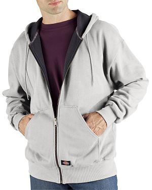 Dickies Midweight Fleece Zip-Up Hooded Work Jacket - Big & Tall