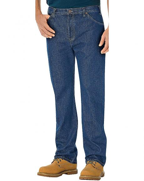 Dickies Regular Straight Fit 6 Pocket Jeans