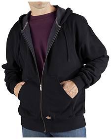 Dickies Midweight Fleece Zip-Up Hooded Work Jacket