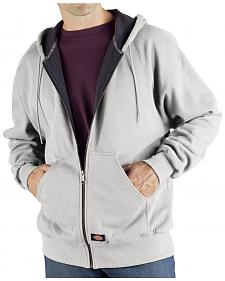 Dickies Midweight Fleece Zip-Up Hooded Work Jacket