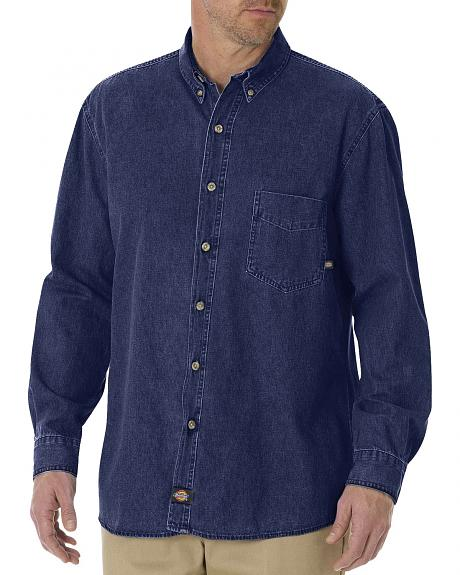 Dickies Denim Work Shirt - Big & Tall