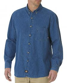 Dickies Stonewash Denim Work Shirt - Big & Tall
