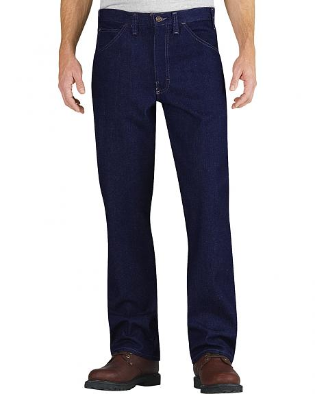 Dickies Relaxed Fit Straight Leg Flame-Resistant 5-Pocket Jeans
