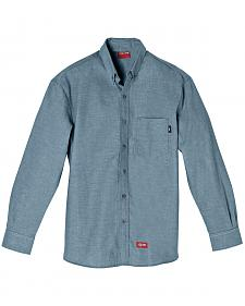 Dickies Flame Resistant Chambray Work Shirt