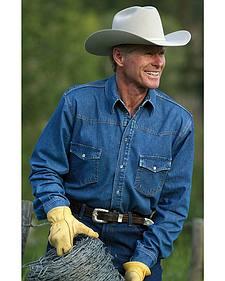 Schaefer Abilene Denim Work Shirt