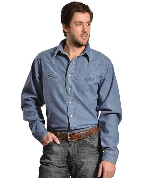 Schaefer Vintage Chisholm Denim Work Shirt