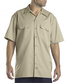 Dickies Short Sleeve Twill Work Shirt - Big & Tall