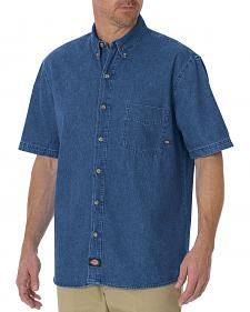 Dickies Rinsed Denim Work Shirt - Big & Tall