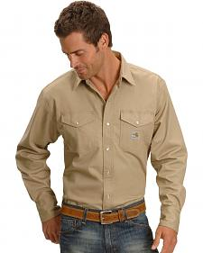 Carhartt Flame Resistant Twill Work Shirt - Big & Tall