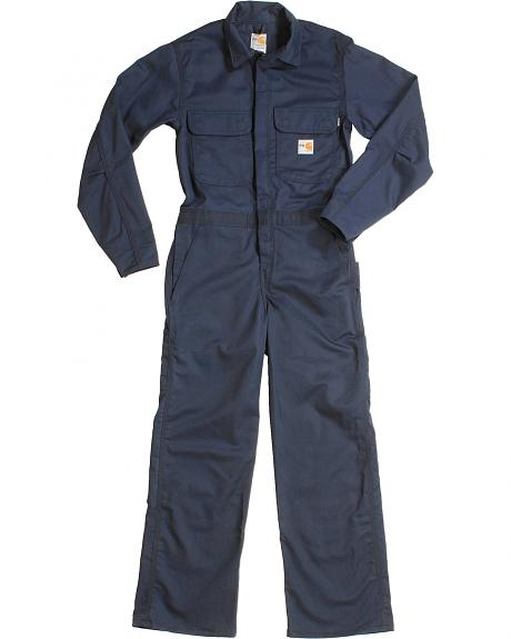 Carhartt Flame Resistant Twill Coveralls - Big & Tall