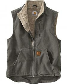 Carhartt Sherpa Lined Work Vest - Big & Tall
