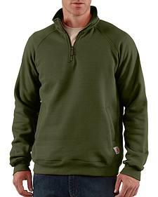 Carhartt Midweight Zip Mock Sweatshirt