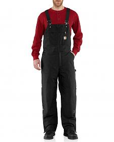 Carhartt Quick Duck Woodward Bib Overalls - Big & Tall