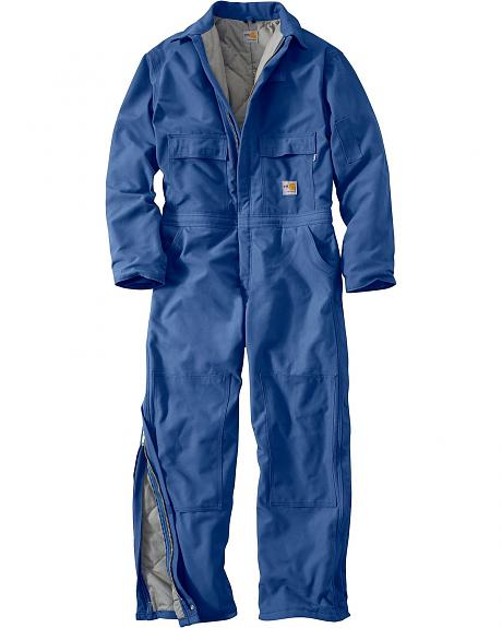 Carhartt Flame Resistant Quilt-Lined Duck Coveralls