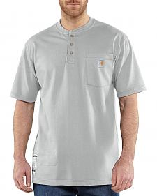 Carhartt Flame Resistant Henley Work Shirt - Big & Tall