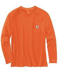 Force? Cotton L/S T-Shirt - Big/Tall Sizes at Sheplers