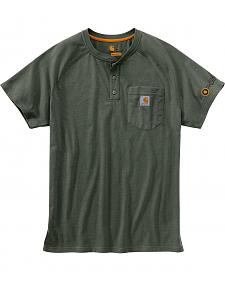 Carhartt Force Cotton Henley Shirt