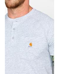 Force? Cotton S/S Henley at Sheplers