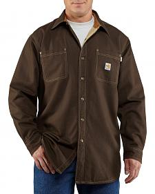 Carhartt Flame Resistant Canvas Shirt Jacket - Big & Tall