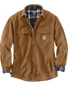 Carhartt Weathered Canvas Shirt Jacket