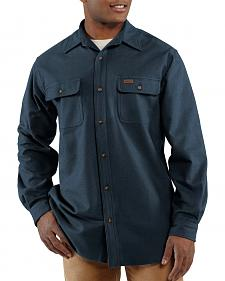 Carhartt Chamois Long Sleeve Work Shirt - Big & Tall