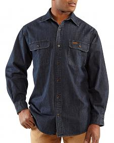 Carhartt Washed Denim Work Shirt