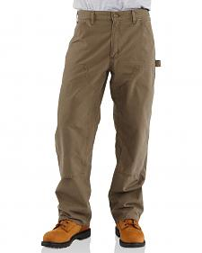 Carhartt Double-Front Canvas Work Dungaree Pants