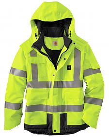 Carhartt High Visibility Waterproof Insulated Jacket