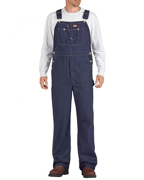 Dickies Denim Work Overalls - Big & Tall