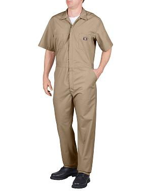 Dickies Short Sleeve Work Coveralls - Big & Tall