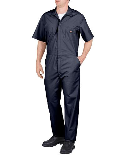 Dickies Short Sleeve Work Coveralls Big & Tall Western & Country 33999RD_X
