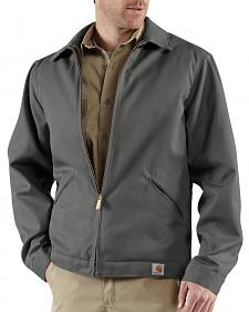 Carhartt Midweight Quilt-Lined Twill Work Jacket - Big & Tall