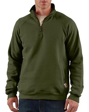 Carhartt Midweight Zip Mock Sweatshirt - Big & Tall