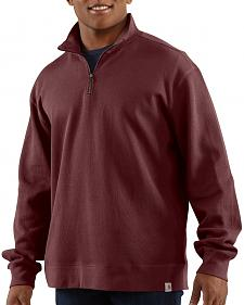 Carhartt Sweater Knit Quarter Zip Sweatshirt - Big & Tall