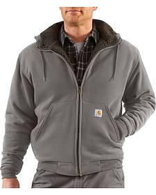 Carhartt Brushed Fleece Sherpa Lined Jacket
