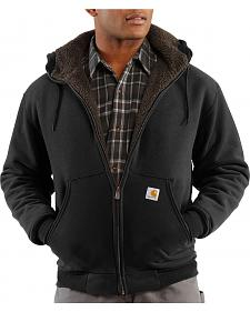 Carhartt Brushed Fleece Sherpa Lined Jacket - Big & Tall