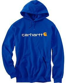 Carhartt Signature Logo Midweight Sweatshirt - Big & Tall
