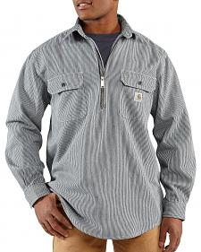 Carhartt Hickory Striped Work Shirt - Big & Tall