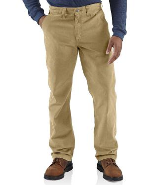 Carhartt Rugged Khaki Work Pants