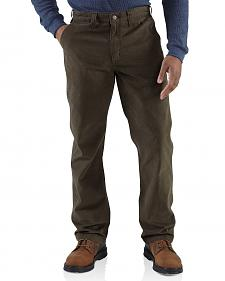Carhartt Rugged Khaki Work Pants