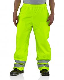 Carhartt High-Visibility Class E Waterproof Pants - Big & Tall