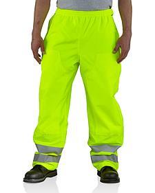Carhartt High-Visibility Class E Waterproof Pants - Big & Tall