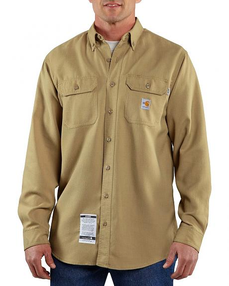 Carhartt Flame Resistant Work Shirt - Big & Tall