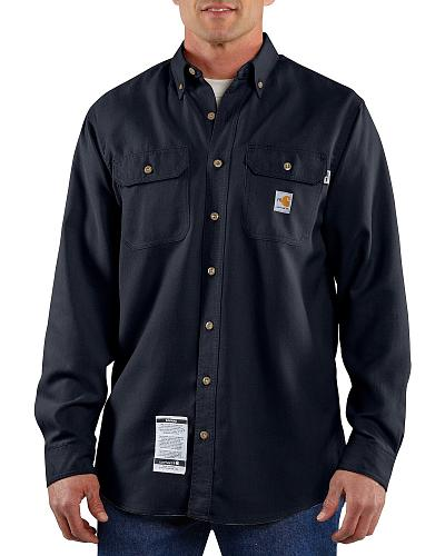Carhartt Flame Resistant Work Shirt Big & Tall Western & Country 100167 410_X