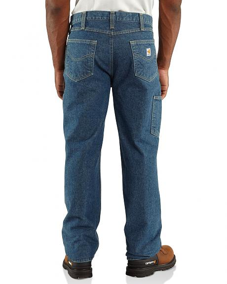 Carhartt Flame Resistant Double Front Relaxed Fit Utility Jeans