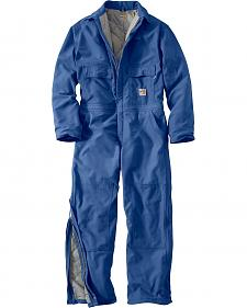 Carhartt Flame Resistant Quilt-Lined Duck Coveralls - Big & Tall