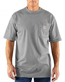 Carhartt Flame Resistant Force Short Sleeve Work Shirt - Big & Tall