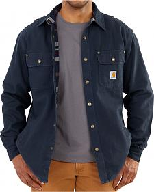 Carhartt Canvas Work Shirt Jacket - Big & Tall