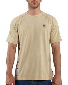 Carhartt Flame Resistant Force Short Sleeve Work T-Shirt - Big & Tall