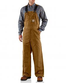 Carhartt Flame Resistant Quilt-Lined Midweight Bib Overalls - Big & Tall